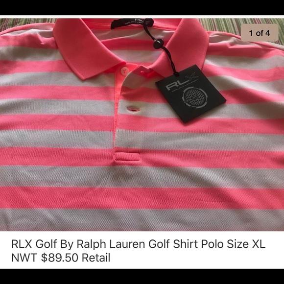 Polo by Ralph Lauren Other - RLX By Ralph Lauren Golf Polo Shirt NWT Size XL
